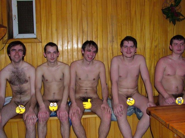 В бане голые парни 170